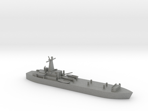 1/1800 Scale British LST-3 in Gray PA12