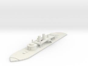 1/600 Union Kalamazoo Class Monitor in White Natural Versatile Plastic