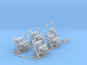 Davits 1/400 scale printable in Smooth Fine Detail Plastic