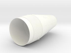 1100 lm shroud in White Processed Versatile Plastic