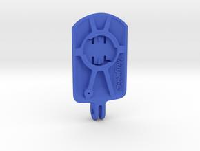 Wahoo Elemnt Roam Blendr Mount - Short in Blue Processed Versatile Plastic