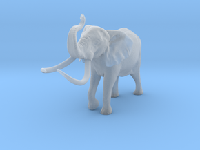 African Bush Elephant 1:32 Aggressive Male in Smooth Fine Detail Plastic