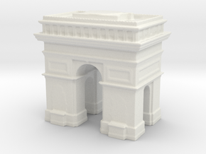 Arc de Triomphe 1/1000 in White Natural Versatile Plastic