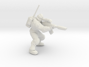 Starcraft 1/60 Ghost Nuclear Weapon Launching Pose in White Natural Versatile Plastic