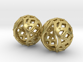 Metal Filigree Joints (wrists) in Natural Brass