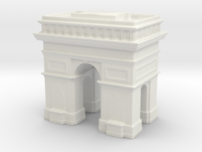 Arc de Triomphe 1/1250 in White Natural Versatile Plastic