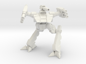 Lycev Mechanized Walker System - Alternative Pose in White Natural Versatile Plastic