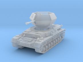 Flakpanzer IV J Ostwind 1/100 in Smooth Fine Detail Plastic