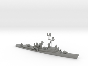 1/1250 Scale Charles F Adams Class DDG-2 in Gray PA12
