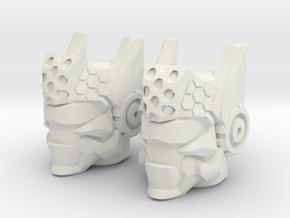 Sparkscape for Allspark Power Landmine (4mm) in White Natural Versatile Plastic