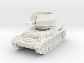 Flakpanzer IV J Ostwind 1/76 in White Natural Versatile Plastic