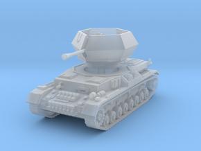Flakpanzer IV J Ostwind 1/76 in Smooth Fine Detail Plastic