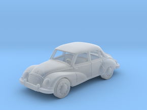 DKW Auto Union  1:87 HO in Smooth Fine Detail Plastic