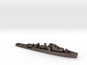 HMS Loch class 1:3000 WW2 frigate in Polished Bronzed-Silver Steel