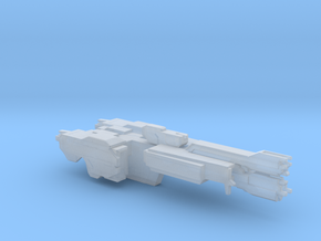 UNSC Stalwart Class Frigate In Amber Clad 8cm in Smooth Fine Detail Plastic