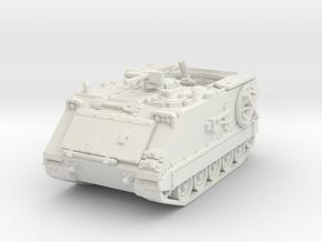 M106 A1 Mortar (open) 1/56 in White Natural Versatile Plastic