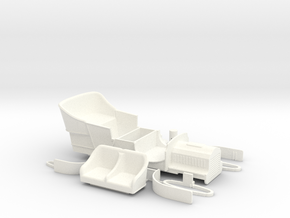 Parts for Ford model F Touring 1905 in White Processed Versatile Plastic