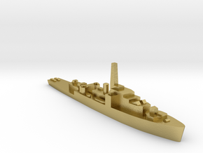 HMS Loch class 1:2400 WW2 frigate in Natural Brass