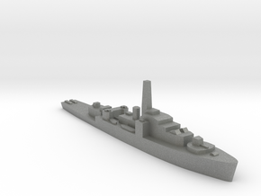 HMS Loch class 1:2400 WW2 frigate in Gray PA12