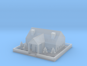 [1DAY_1CAD] HOUSE in Smooth Fine Detail Plastic