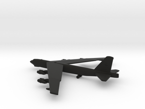 Boeing B-52 Stratofortress in Black Natural Versatile Plastic: 1:600