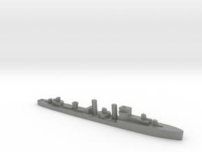 HMS Codrington 1:2400 WW2 destroyer in Gray PA12