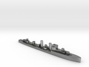 HMS Codrington 1:3000 WW2 destroyer in Natural Silver