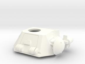 TOURELLE R35  in White Processed Versatile Plastic