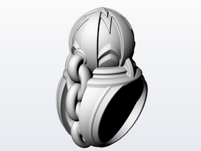 Wrecking Ball_size 12 in Antique Silver
