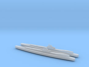 HMS Clyde x2 1/2400 in Smooth Fine Detail Plastic