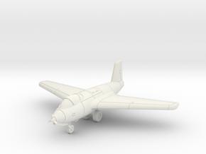 (1:144) Messerschmitt Me 263 (Gear Down) in White Natural Versatile Plastic