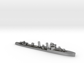 HMS Exmouth 1:3000 WW2 destroyer in Natural Silver