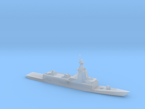 1/2400 Scale Spanish Navy F-110-class frigate in Smooth Fine Detail Plastic