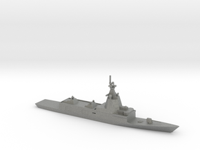 1/700 Scale Spanish Navy F-110-class frigate in Gray PA12
