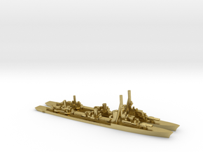 German Type1936A Destroyer (x2) in Natural Brass