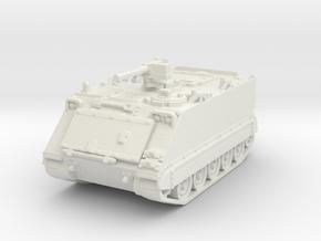 M113 A1 (closed) 1/87 in White Natural Versatile Plastic