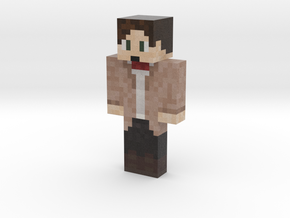 ProfWho | Minecraft toy in Natural Full Color Sandstone