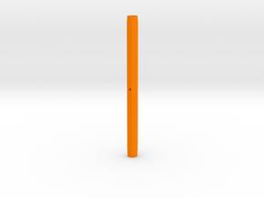 Varita Pen Body 8 sides double pen in Orange Processed Versatile Plastic