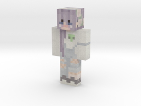 anime_girl | Minecraft toy in Natural Full Color Sandstone