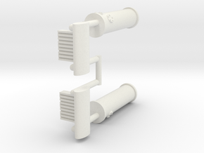 Holzgas conversion pack 1:144 in White Natural Versatile Plastic