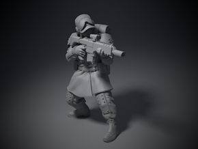 Guardsmen - A in Smoothest Fine Detail Plastic