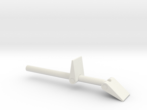 James Bond - TMWTGG Trigger Type B in White Natural Versatile Plastic