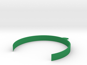 [1DAY_1CAD] SPROUT HEADBAND in Green Processed Versatile Plastic
