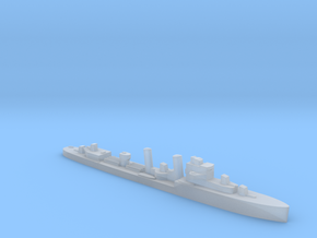 HMS Faulknor 1:1800 WW2 destroyer in Smoothest Fine Detail Plastic