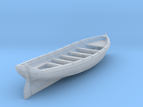 1/144 IJN 9m Cutter w/o. Paddles in Smooth Fine Detail Plastic