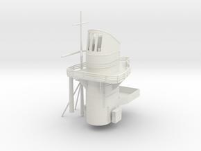1/144 DKM Admiral Scheer Funnel Kit in White Natural Versatile Plastic