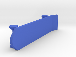 [1DAY_1CAD] SKATEBOARD  in Blue Processed Versatile Plastic