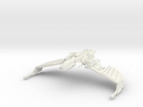 "Klingon N''Thak Class BattleCruiser  5.8"" in White Natural Versatile Plastic"