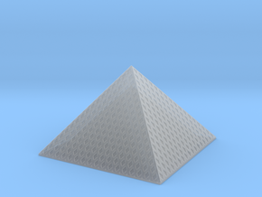 Louvre Pyramid 1/1250 in Smooth Fine Detail Plastic