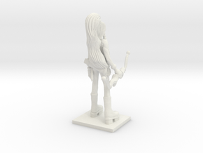 Fantasy Figures 01 - Ranger in White Natural Versatile Plastic